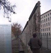 The Berlin Wall.