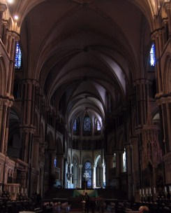 The Norman section of the cathedral