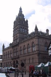 Chester town hall.