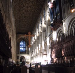 The cathedral nave