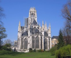 The abbey of St. Ouen