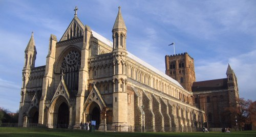 St. Albans Cathedral.