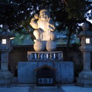 Daikoku, the god of prosperity.