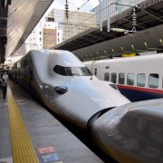 The shinkansen.