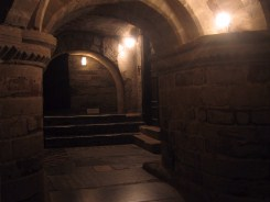 The church crypt