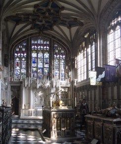 The glorious Beauchamp Chapel