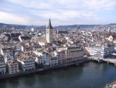 Zurich and St. Peter's Church.